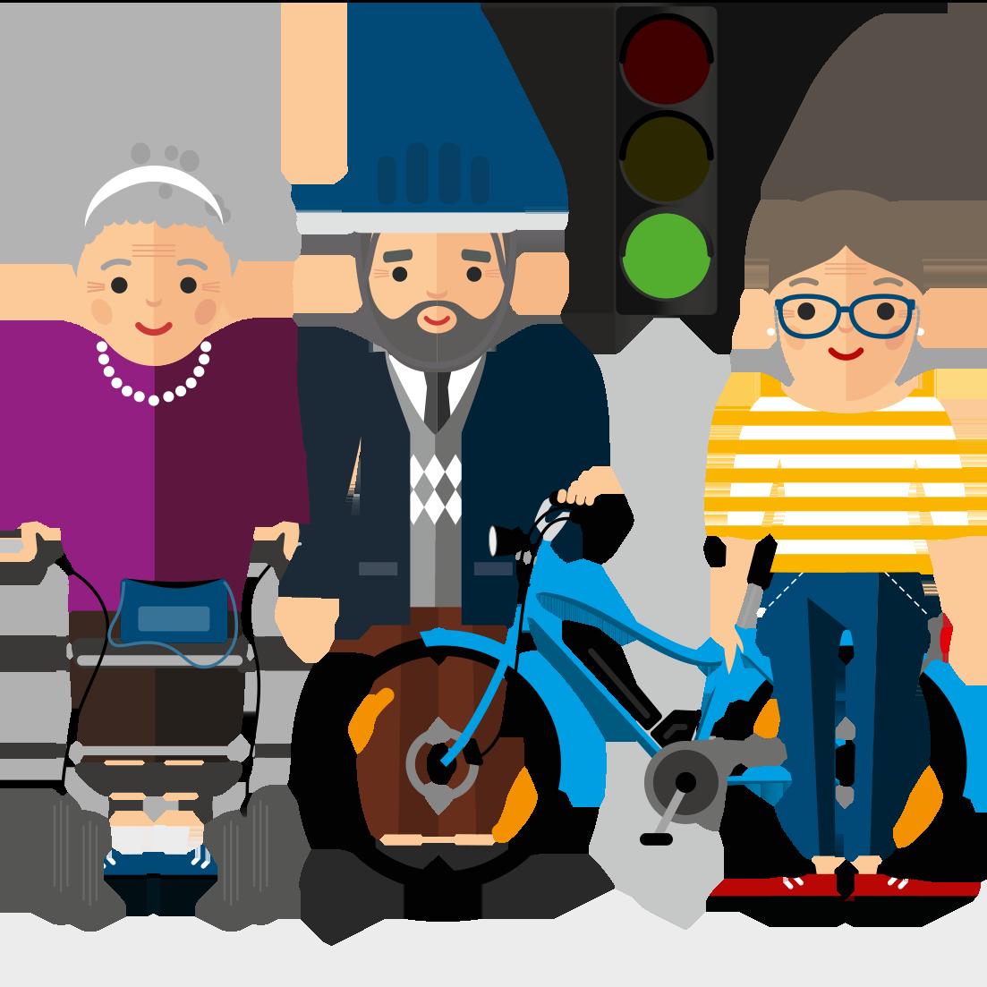 Miteinander mobil: Sicher und selbstbestimmt im Alter