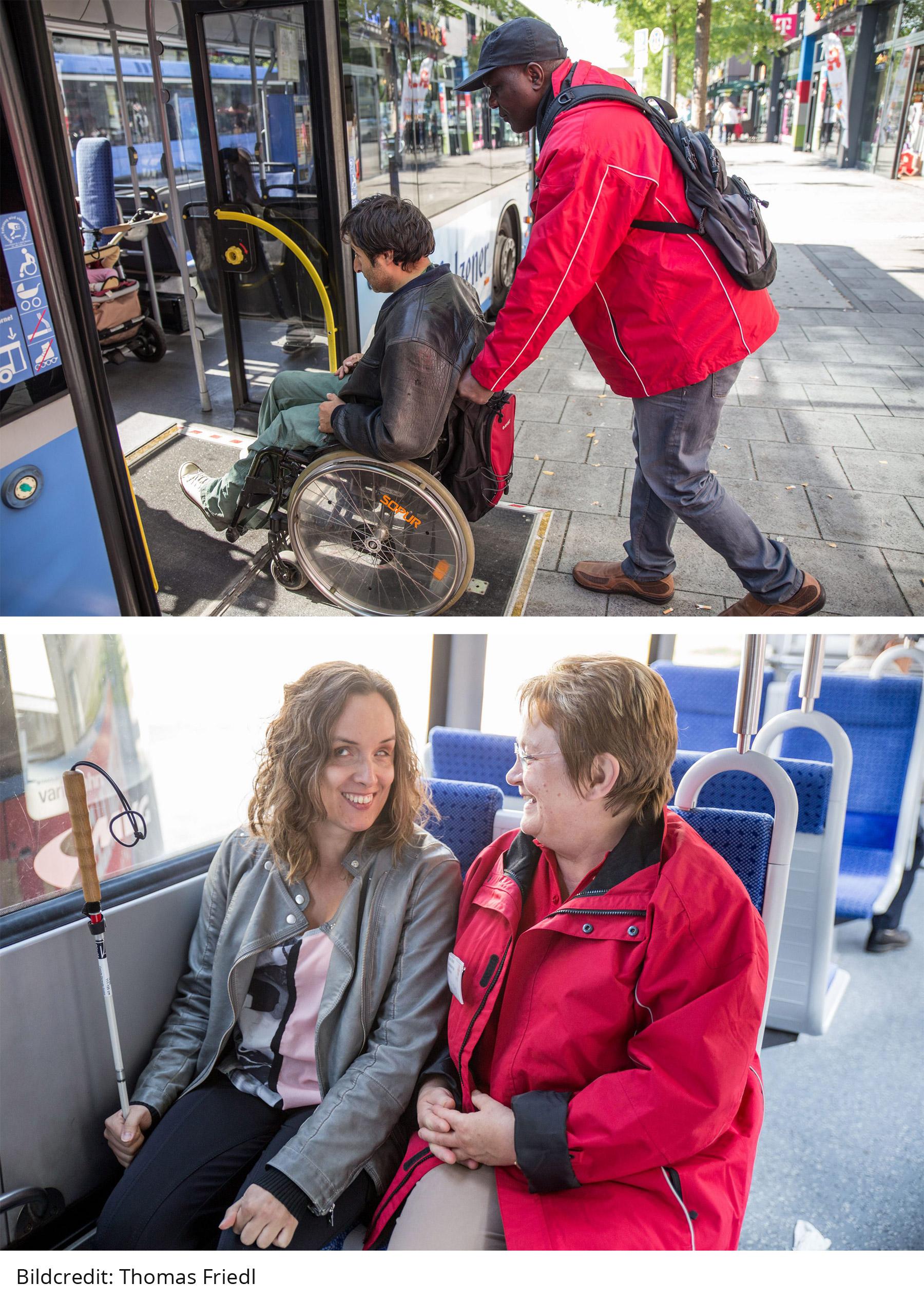 Bus & Bahn Begleitservice & Einstiegshilfe